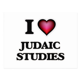 I Love Judaic Studies Postcard