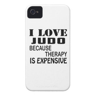 I Love Judo Because Therapy Is Expensive iPhone 4 Case-Mate Case