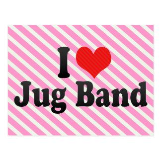 I Love Jug Band Postcards