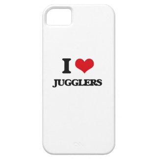 I Love Jugglers iPhone 5 Cases