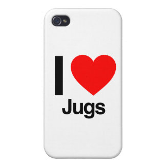 i love jugs iPhone 4/4S cover