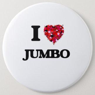 I Love Jumbo 6 Cm Round Badge