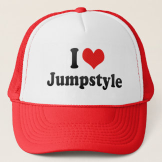I Love Jumpstyle Trucker Hat