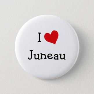 I Love Juneau 6 Cm Round Badge