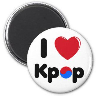 I love k-pop fridge magnet