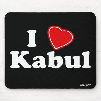 I Love Kabul Mouse Pad