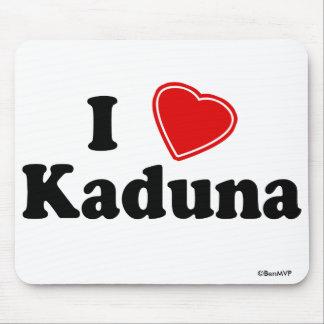 I Love Kaduna Mouse Pad