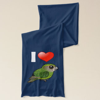 I Love Kakapos Scarf