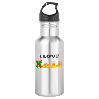 I Love Kale, Funny, Nerdy Beer Lover Gifts. 532 Ml Water Bottle