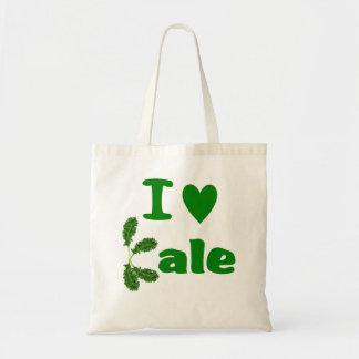 I Love Kale (I Heart Kale) Reusable Grocery Cloth