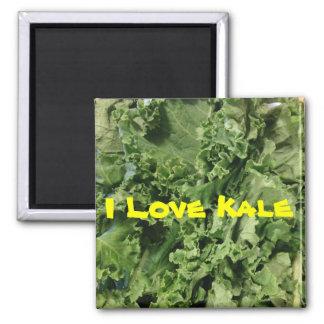 I Love Kale Vegan Magnet