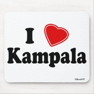 I Love Kampala Mouse Pad