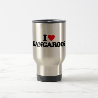 I LOVE KANGAROOS COFFEE MUG