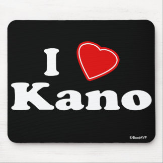I Love Kano Mouse Pad