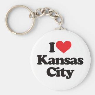 I Love Kansas City Key Ring