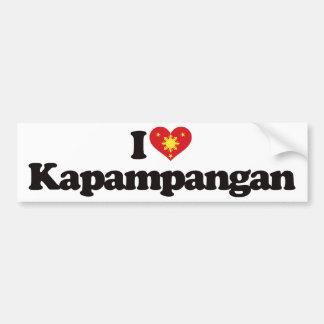 I Love Kapampangan Bumper Sticker