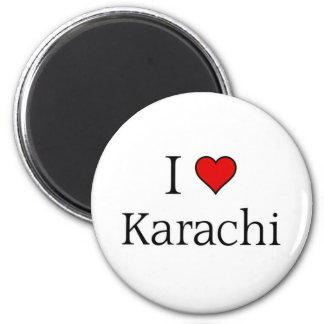 I love Karachi Magnet