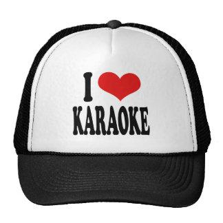 I Love Karaoke Cap