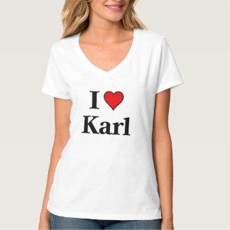 I love Karl T Shirts
