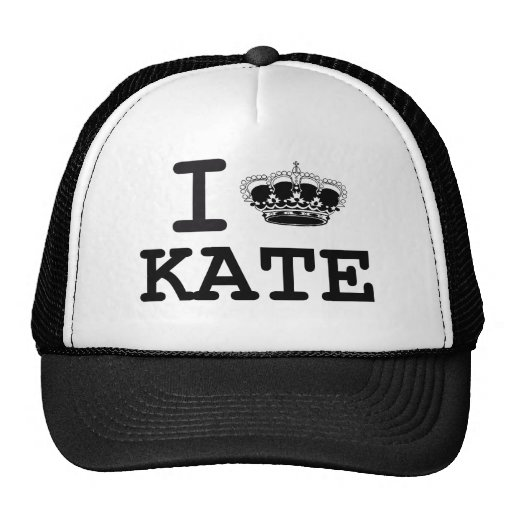I LOVE KATE - CROWN MESH HATS