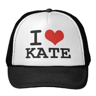 I LOVE KATE TRUCKER HATS