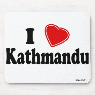 I Love Kathmandu Mouse Pad