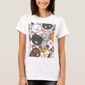 I love Kawaii Kitties Women's Casual Shirt