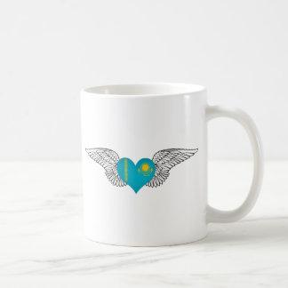 I Love Kazakhstan -wings Coffee Mug