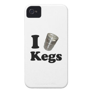 I love Kegs iPhone 4 Covers