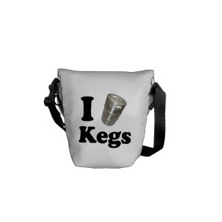I love Kegs Commuter Bags