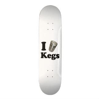 I love Kegs 21.6 Cm Old School Skateboard Deck