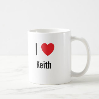 I love Keith Coffee Mug