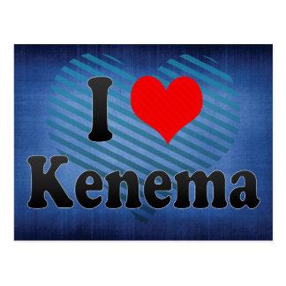 I Love Kenema, Sierra Leone Postcard