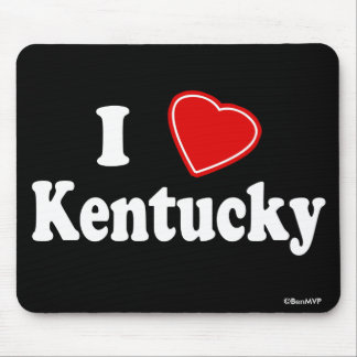 I Love Kentucky Mousepad