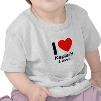 i love keplers laws t-shirt