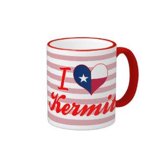 I Love Kermit, Texas Mugs