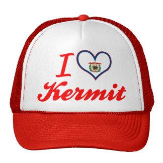 I Love Kermit West Virginia Hat