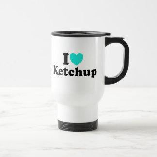 I Love Ketchup 15 Oz Stainless Steel Travel Mug