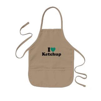 I Love Ketchup Apron