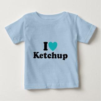 I Love Ketchup Baby T-Shirt