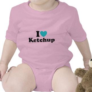 I Love Ketchup Bodysuit