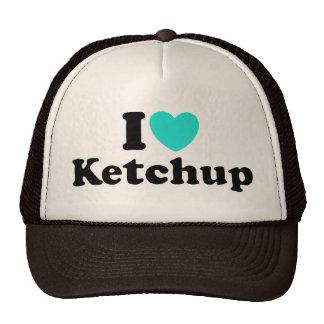 I Love Ketchup Cap