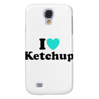 I Love Ketchup Galaxy S4 Cover