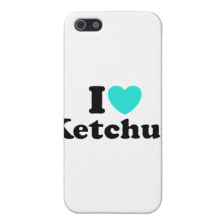 I Love Ketchup iPhone 5 Covers