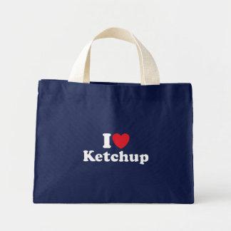 I Love Ketchup Mini Tote Bag
