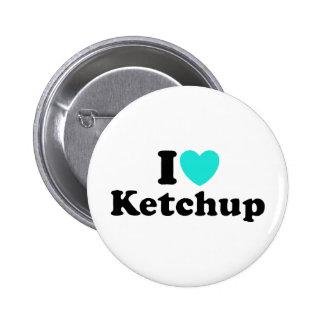 I Love Ketchup Pin