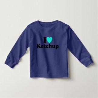 I Love Ketchup Toddler T-Shirt