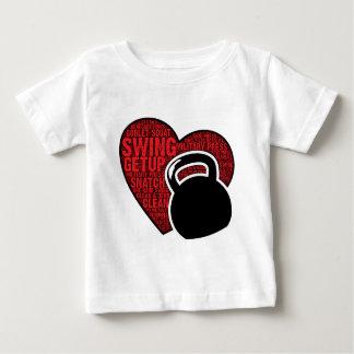 I LOVE KETTLEBELL DESIGN BABY T-Shirt