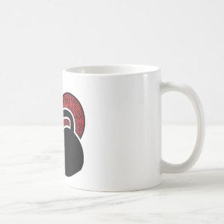 I LOVE KETTLEBELL DESIGN COFFEE MUG