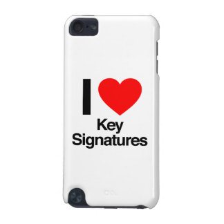 i love key signatures iPod touch 5G covers
